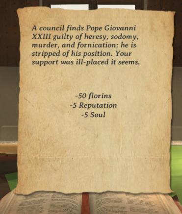 Arte Mecenas Pope Action Response